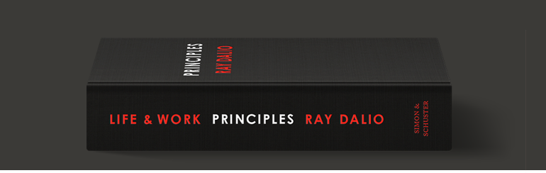 Order Ray Dalio's Principles Today