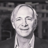 Black and white portrait of Ray Dalio: Narrator and Creator of Life Principles
